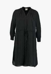 Selected Femme - SFDAMINA 7/8 DRESS - Shirt dress - black - 6