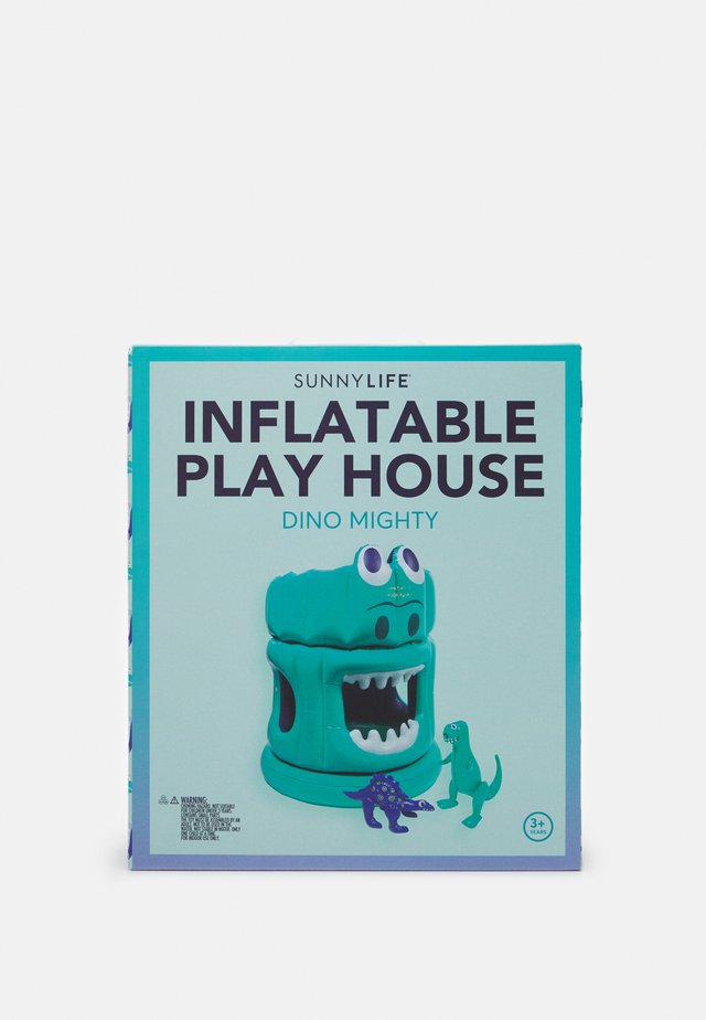 INFLATABLE PLAY HOUSE DINO MIGHTY - Zabawka - green