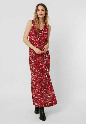 Maxi dress - goji berry