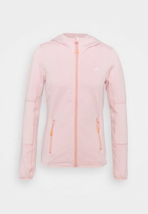 ONPJETTA HOOD - Fleece jacket - peachskin