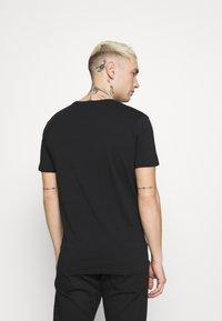 Diesel - UMTEE RANDAL 3 PACK - T-shirt basic - black/pink/grey melange - 2