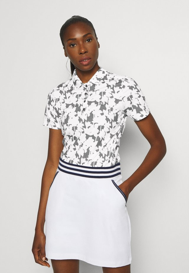 BUREN PRINTED - Polo shirt - white
