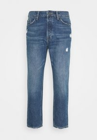 Only & Sons - ONSAVI LIFE BEAM TAP CROP - Jeans Tapered Fit - blue denim - 3