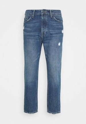 ONSAVI LIFE BEAM TAP CROP - Jeans Tapered Fit - blue denim