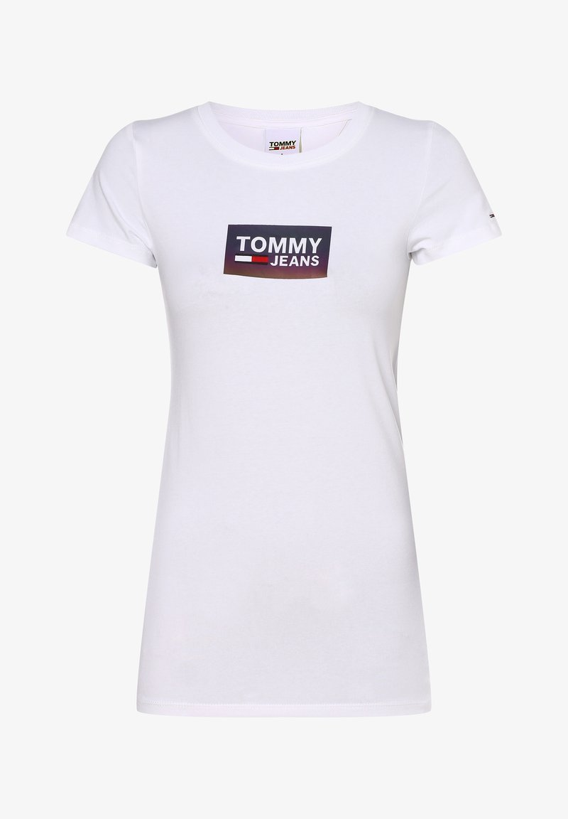 Tommy Jeans - Print T-shirt - weiß
