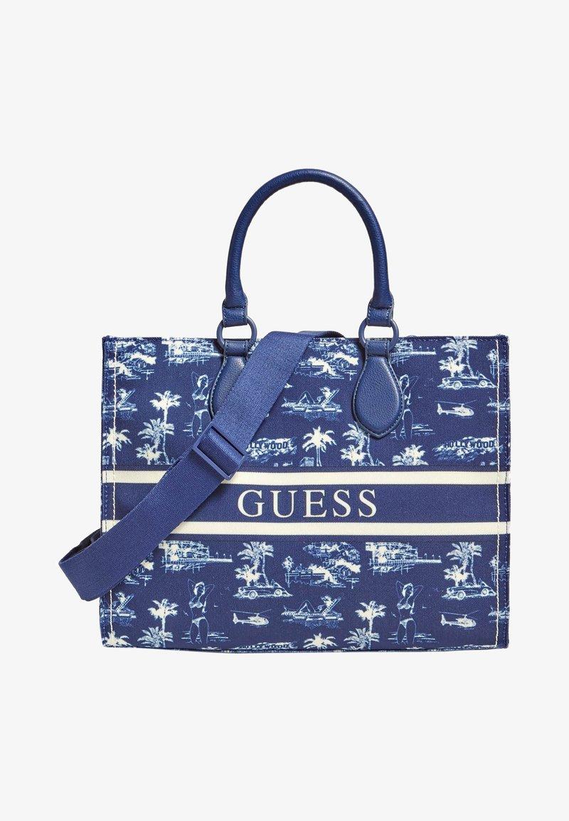 Guess - Bolso de mano - blau