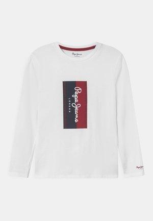 ANTON - Maglietta a manica lunga - white