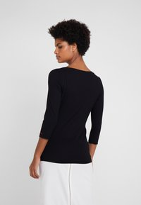 HUGO - DICARE - Long sleeved top - black