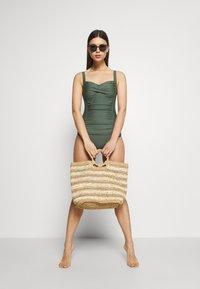 LASCANA - SWIMSUIT - Swimsuit - olive - 1