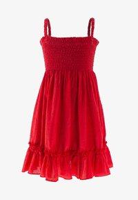 Evika Kids - Day dress - red - 0