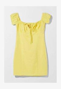 Bershka - Day dress - yellow - 5