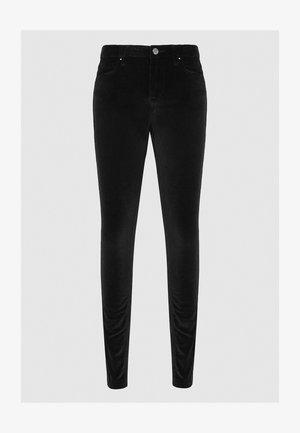 LUXVELVET - Trousers - black