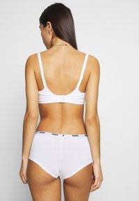 Puma - MINI SHORT 3 PACK - Panties - white - 3