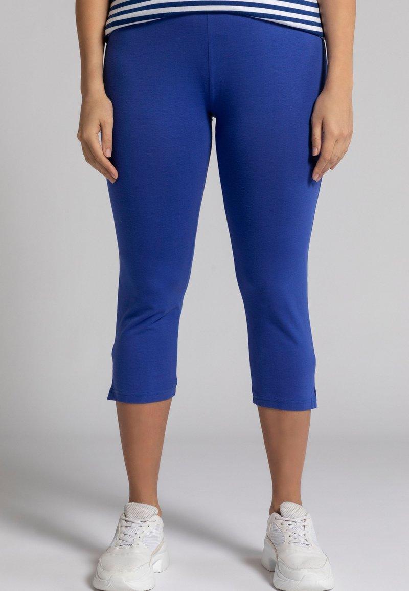 Ulla Popken - Leggings - Trousers - dunkles azurblau