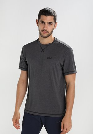 CROSSTRAIL MEN - Basic T-shirt - dark steel