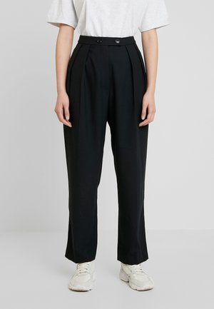 FRANCOISE TROUSERS - Trousers - black
