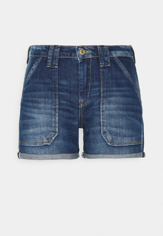 BLOOM - Jeans Short / cowboy shorts - blue