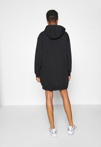 Nike Sportswear - HOODIE DRESS - Day dress - black - 2