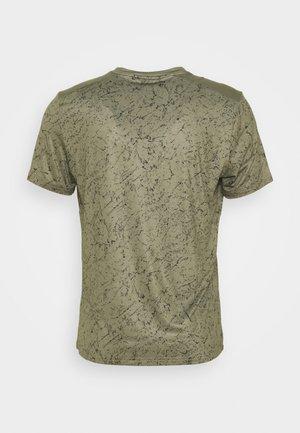 TEE GALENE - Print T-shirt - kaki