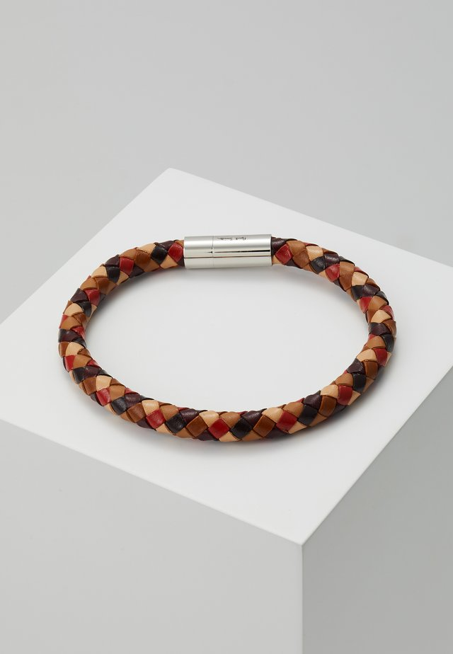 BRACELET PLAIT - Pulsera - brown