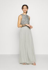 Lace & Beads Petite - PICASSO - Occasion wear - sage - 1