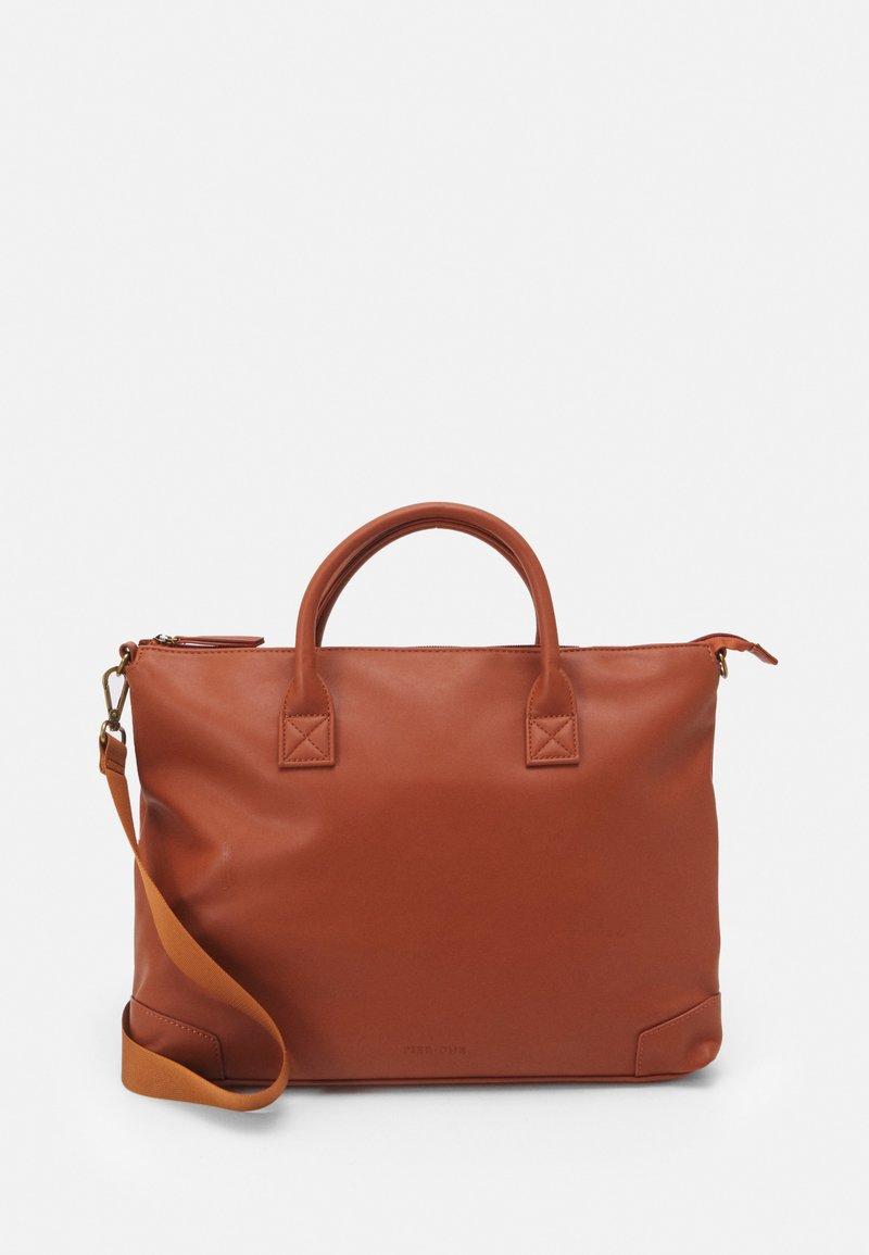 Pier One - UNISEX - Laptop bag - brown