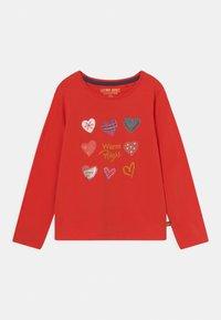 Lemon Beret - SMALL GIRLS  - Long sleeved top - fiery red - 0