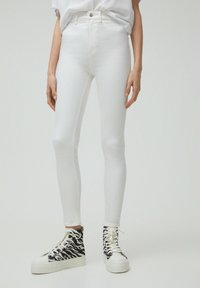 PULL&BEAR - Jeans Skinny Fit - white - 0