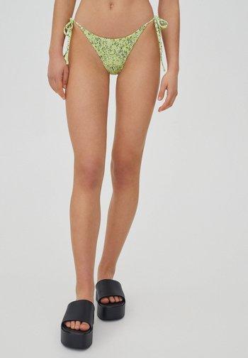 Bikini bottoms - evergreen