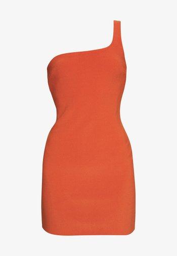 RUBY MINI DRESS - Sukienka letnia - rust