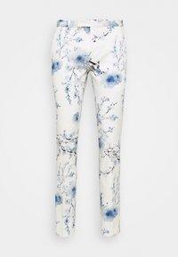 Twisted Tailor - BLOSSOM SUIT - Suit - white blue - 3