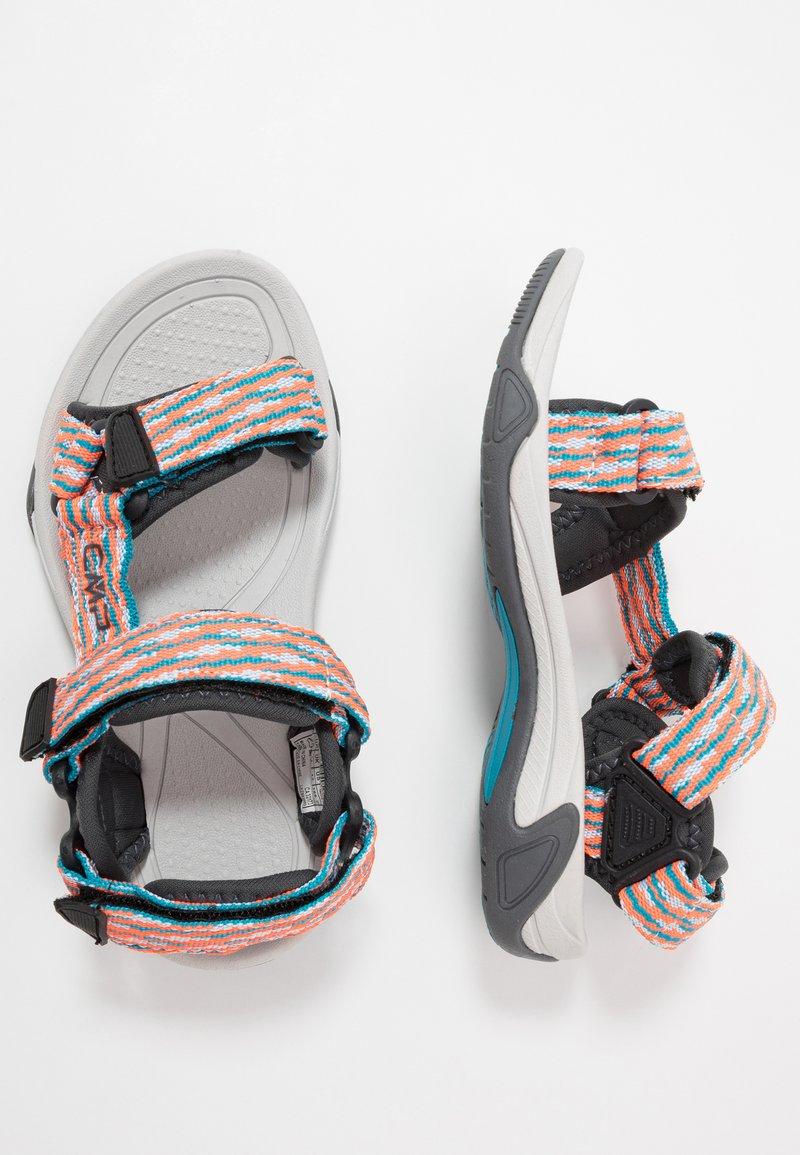 CMP - KIDS HAMAL HIKING  - Chodecké sandály - rif/flash orange