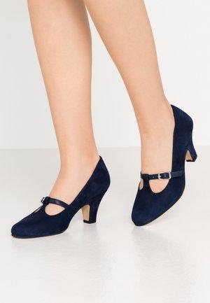Classic heels - azul