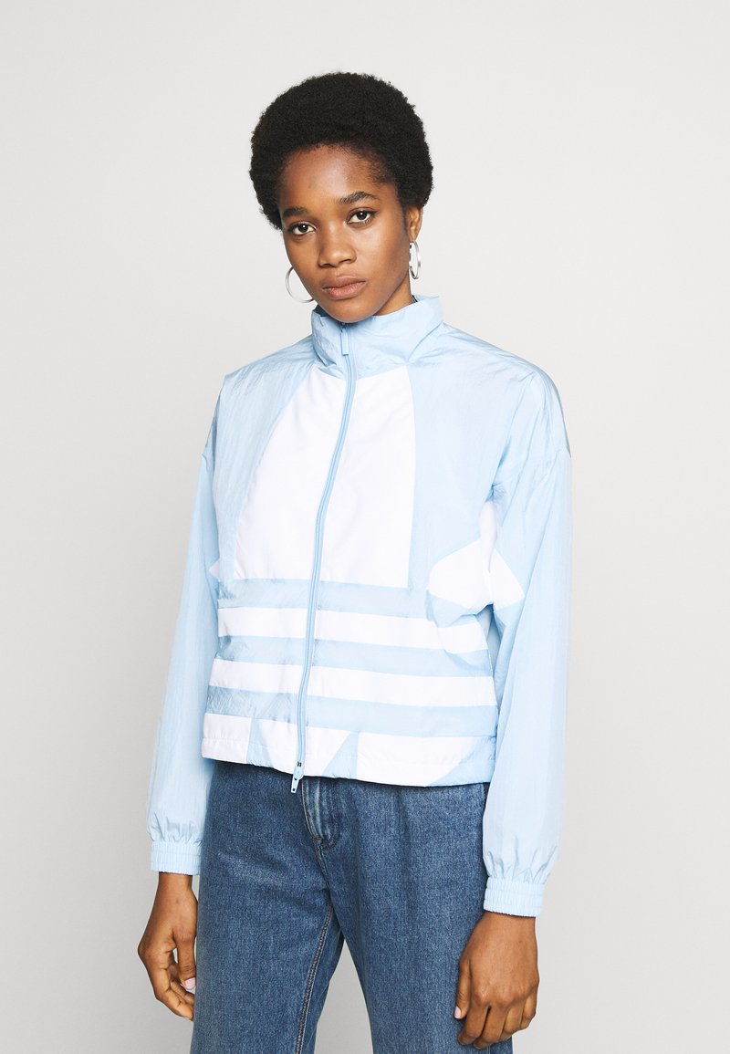 adidas Originals - LOGO - Training jacket - clear sky/white