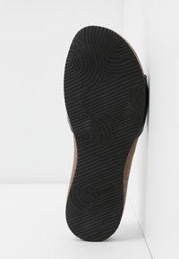 Scholl - BAHAMAIS - Slippers - noir - 6