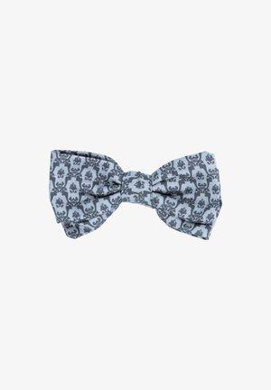 TANTE LUISE - Bow tie - dunkelgrau/hellgrau