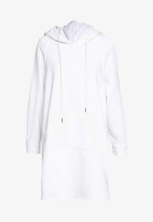 LAYLA HOODIE DRESS - Vestido informal - white