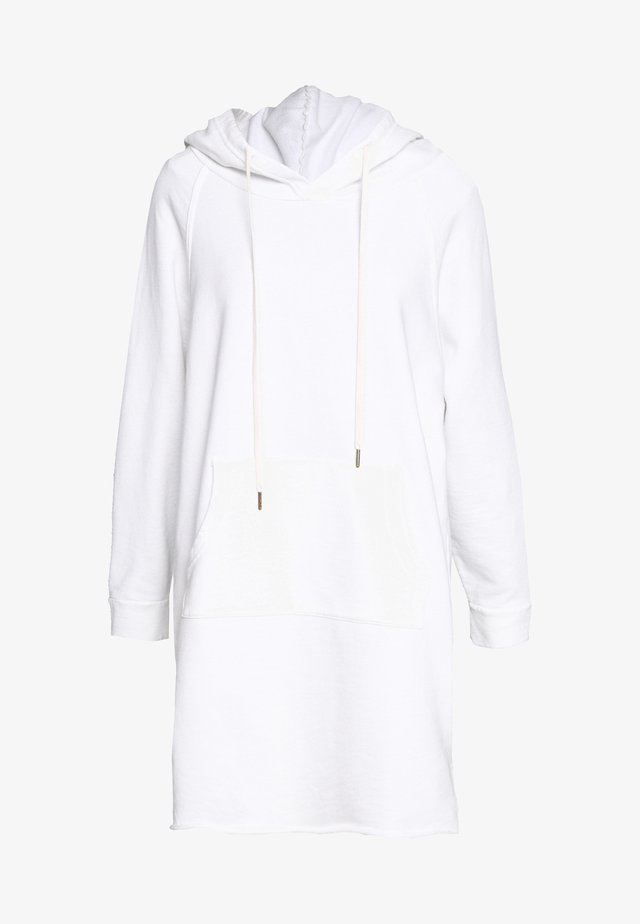 LAYLA HOODIE DRESS - Day dress - white