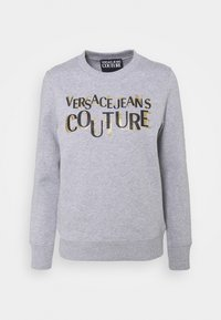 Sweatshirt - grey/gold