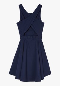 Polo Ralph Lauren - SOLID CROSS DRESSES - Day dress - french navy - 1