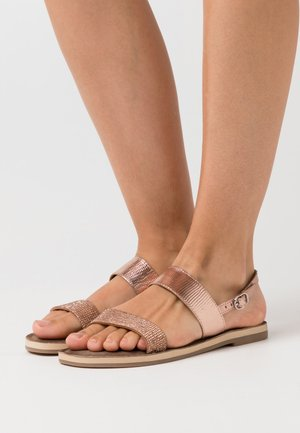 Sandales - copper glam
