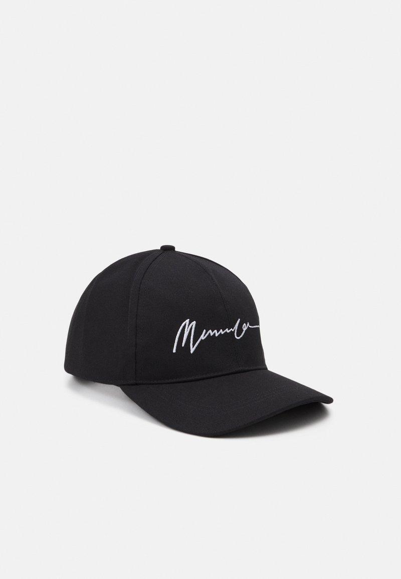Mennace - EMBROIDERED LOGO UNISEX - Caps - black