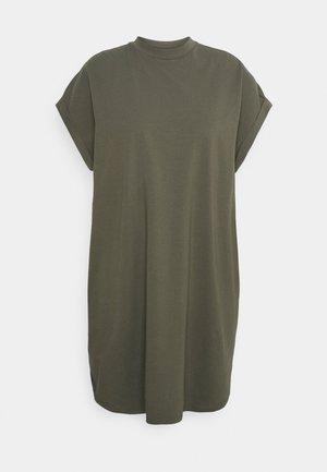 NMHAILEY DRESS - Jersey dress - dusty olive