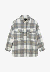 PULL&BEAR - Button-down blouse - light grey - 5