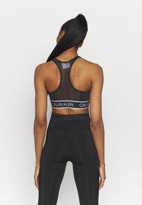 Calvin Klein Performance - MEDIUM SUPPORT BRA - Sportovní podprsenky se střední oporou - black - 2