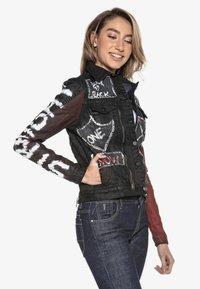 Cipo & Baxx - Denim jacket - schwarz - 1