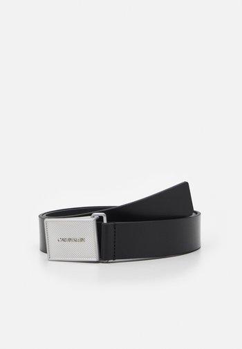 PIQUE METAL PLAQUE  - Belt - black