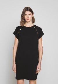 Barbour International - HURRICANE DRESS - Sukienka z dżerseju - black - 0