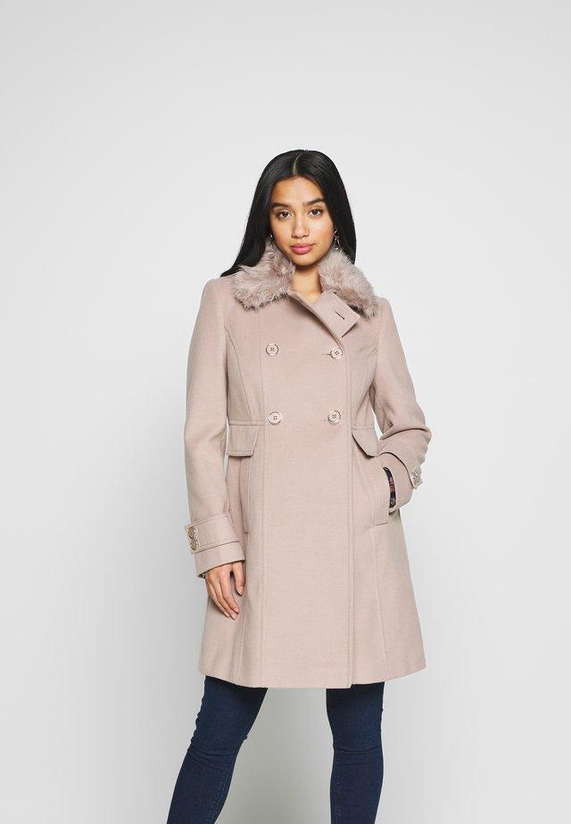 FUR TOP FAUX  - Classic coat - mink