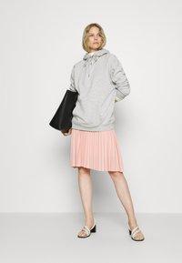 Anna Field - Plisse A-line mini skirt - A-line skjørt - dusty pink - 1